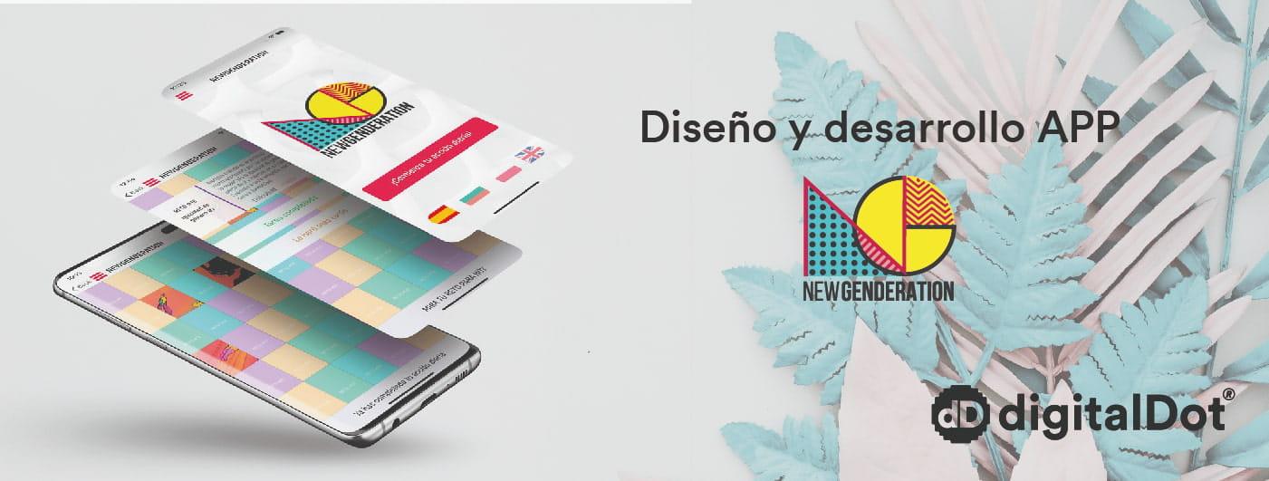Diseño y desarrollo de la aplicación móvil New Genderation