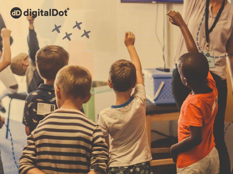 Diseño página web Colegio Capuchinos Murcia. digitalDot