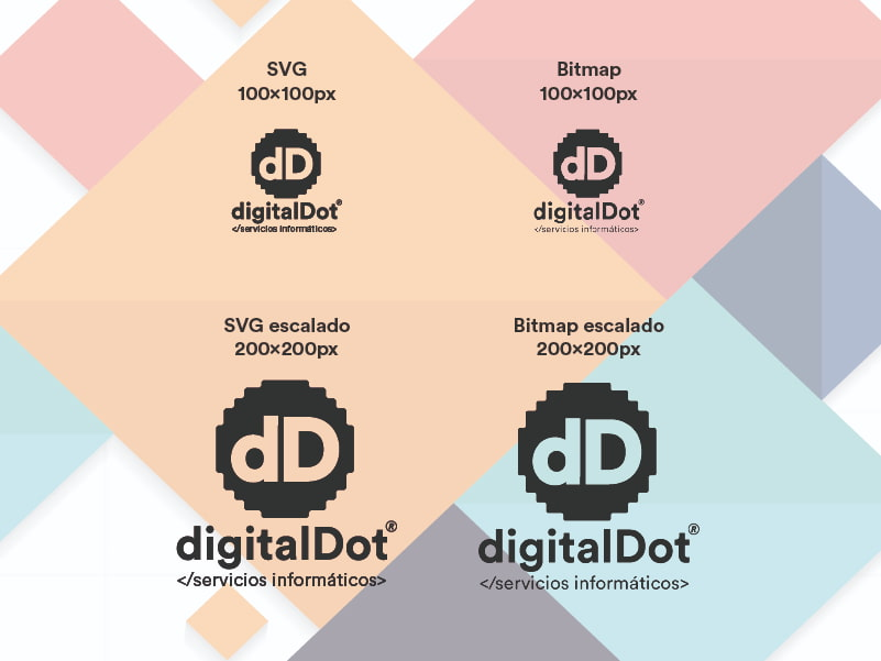 Ventajas formato SVG. digitalDot