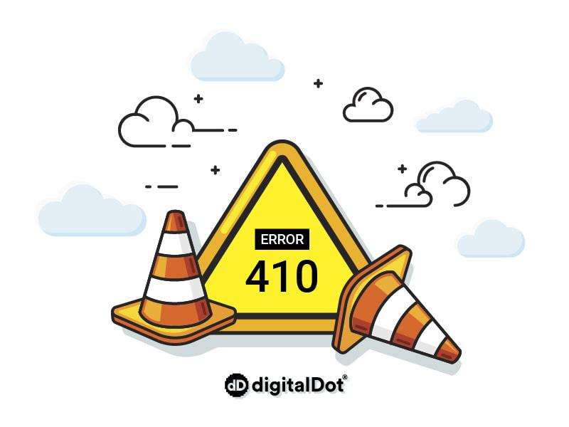 ¿Qué es un error 410 y cómo se soluciona?