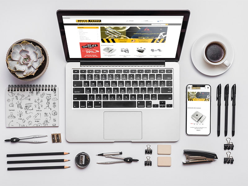 Diseño de la tienda online BricoFerro