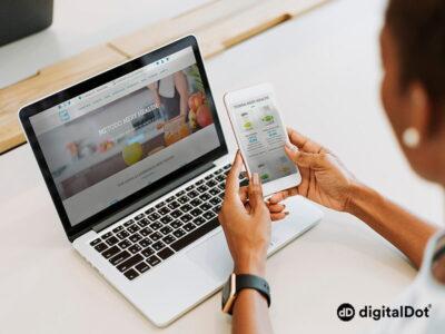 Diseño web de la tienda online MeryHealth