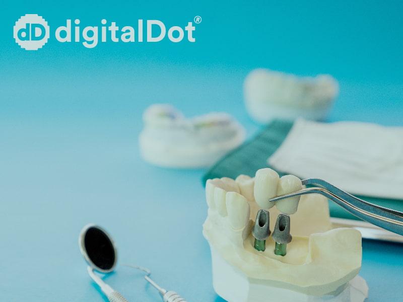 Diseño web páginas clínicas dentales. digitalDot