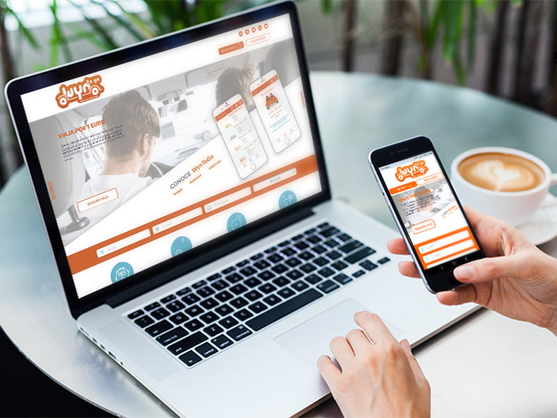 Diseño web Wyntogo por digitalDot