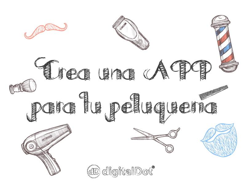 Diseño de app para peluquerías