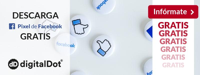 Módulo píxel Facebook para Prestashop. digitalDot
