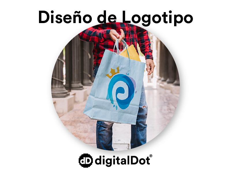 Diseño logotipo tienda electrodomésticos