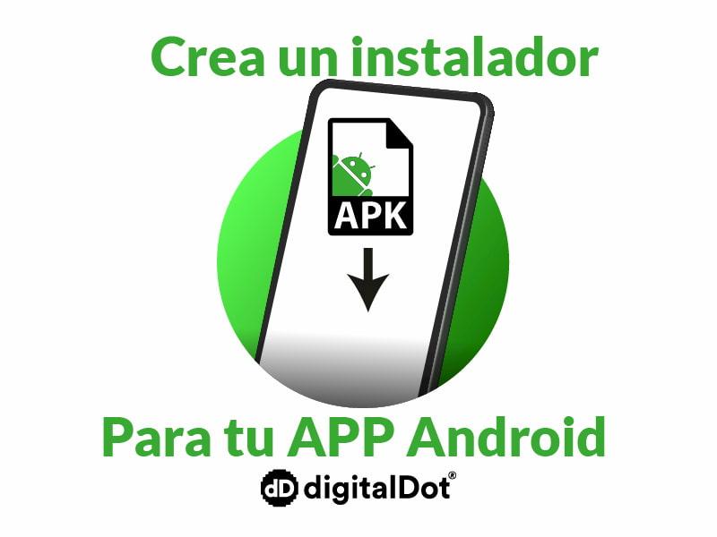 Cómo crear un instalador para una app en windows