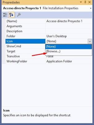 Instalar app en windows