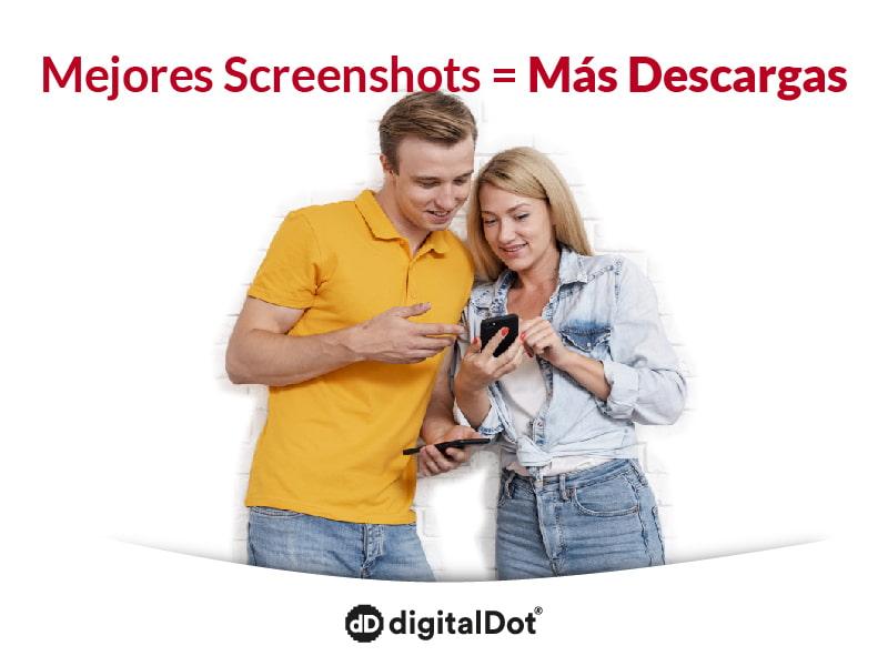 Aprende a diseñar mejores Screenshots. digitalDot