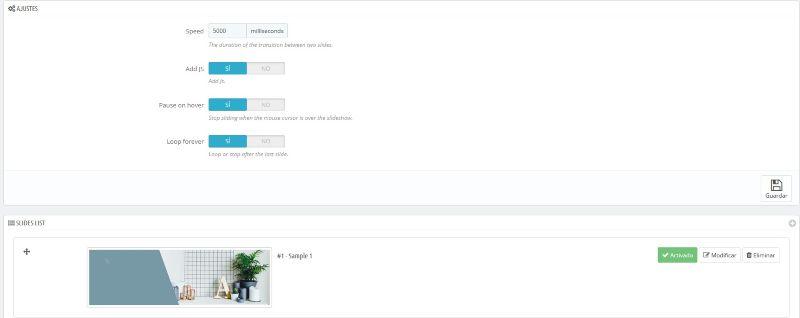 Módulo Slider responsive. digitalDot