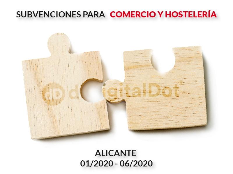Ayudas al comercio Alicante