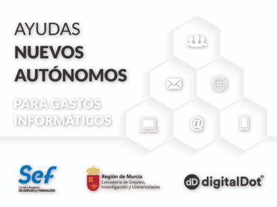 Ayudas a autónomos de Murcia para gastos informáticos