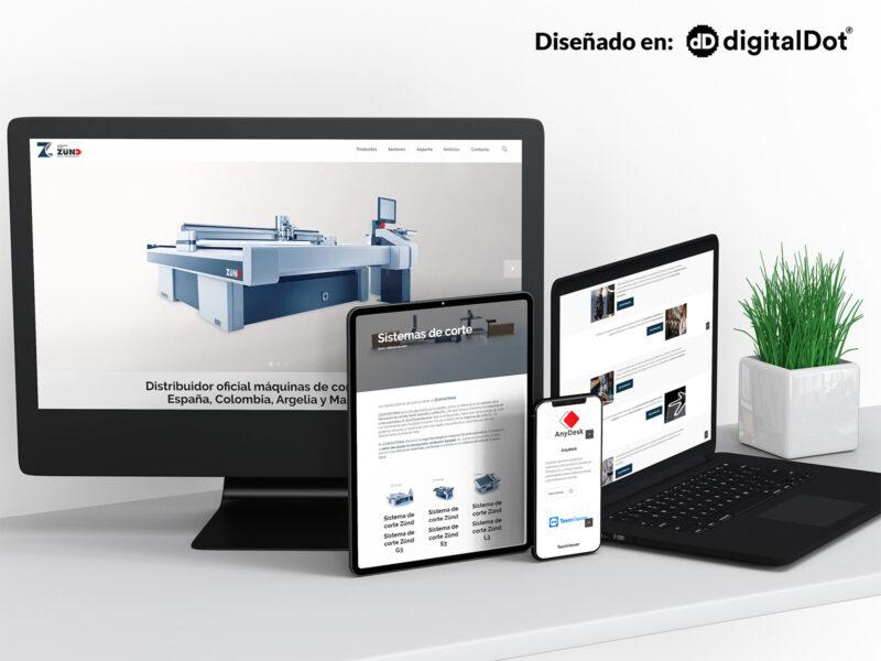 Diseño web para Zcam