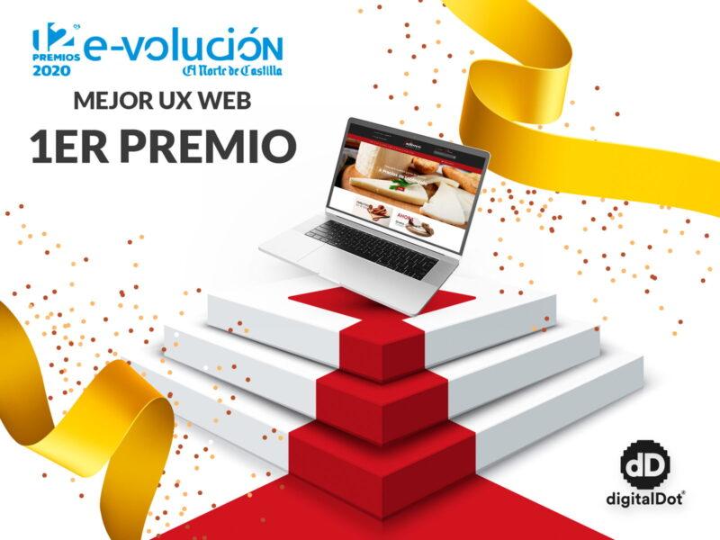 Premio a la mejor web. digitalDot