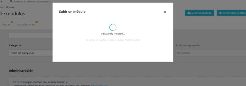Instalación módulo Yandex métrica Prestashop