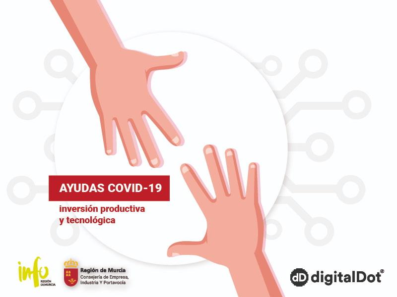 Ayudas COVID-19 a la inversión productiva y tecnológica