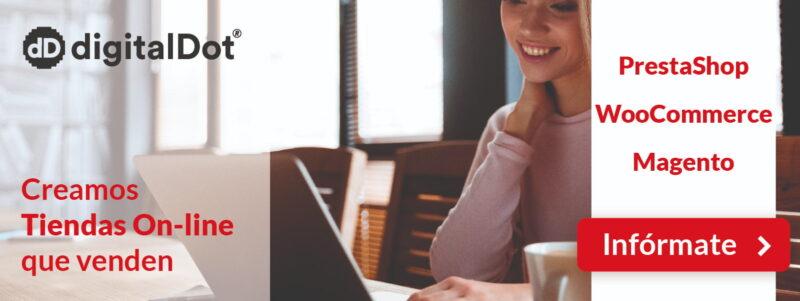 Diseño web y tiendas online - digitalDot