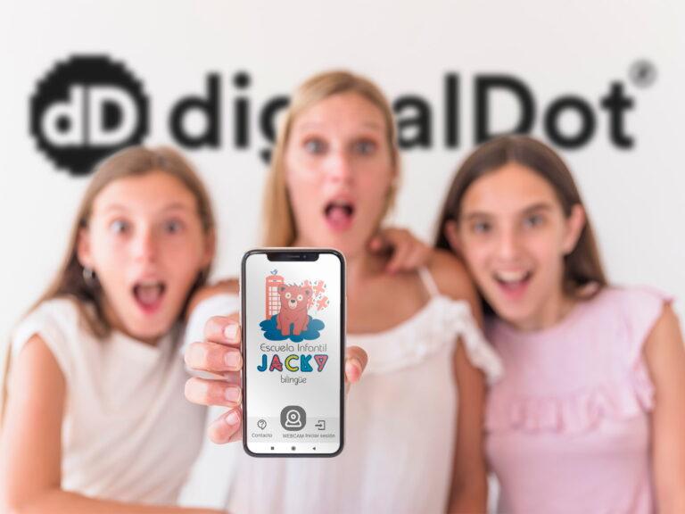 Aplicación móvil guardería. digitalDot