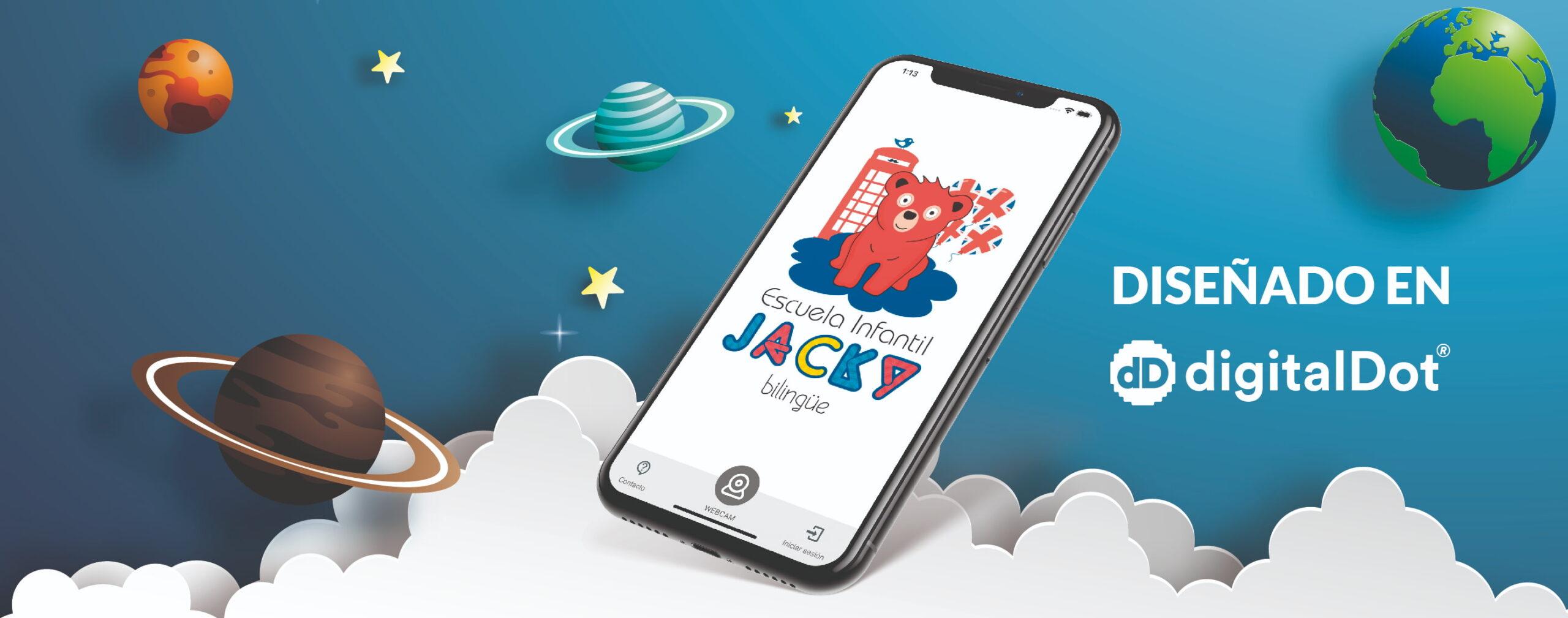 Aplicación móvil para guardería. digitalDot