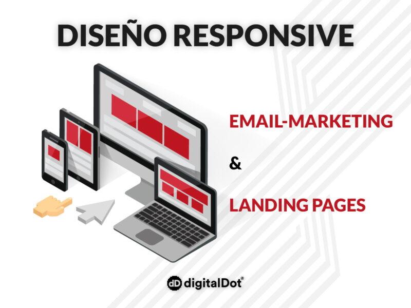 Diseño de landing page y email marketing