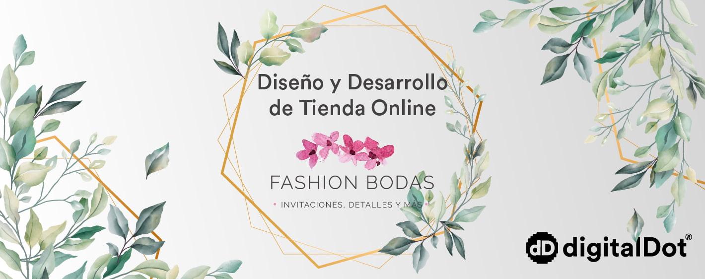 Diseño tienda online Fashion Bodas. digitalDot
