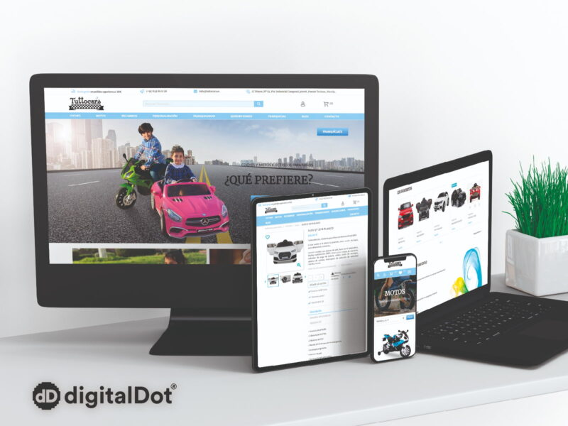 Diseño tiendas online. digitalDot