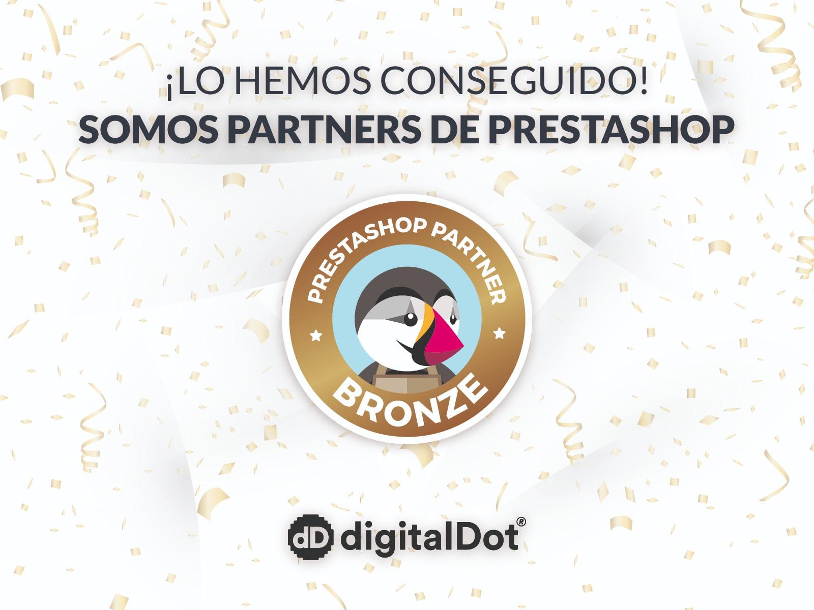 digitalDot. Agencia de diseño web Partner de Prestashop
