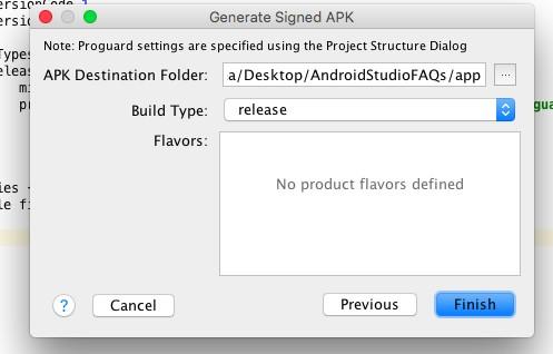 APK con Android Studio