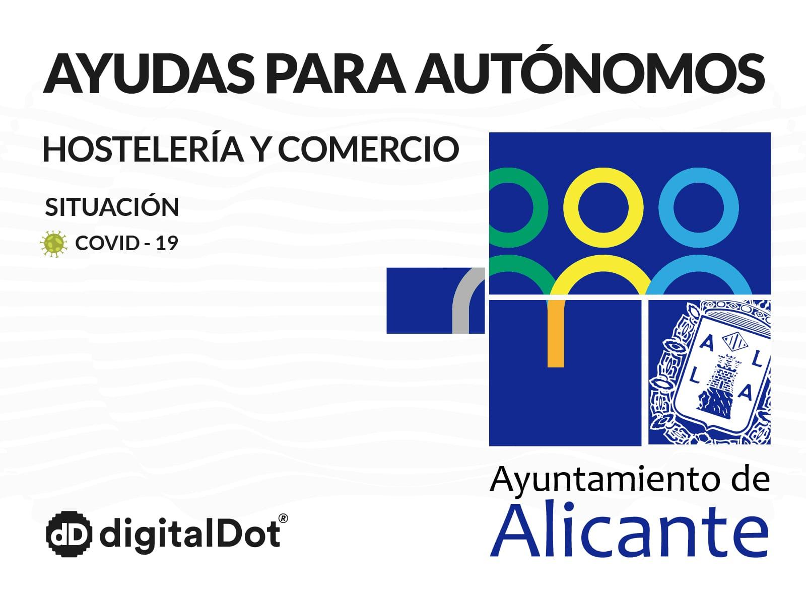 Ayudas COVID-19 al comercio y hostelería de Alicante