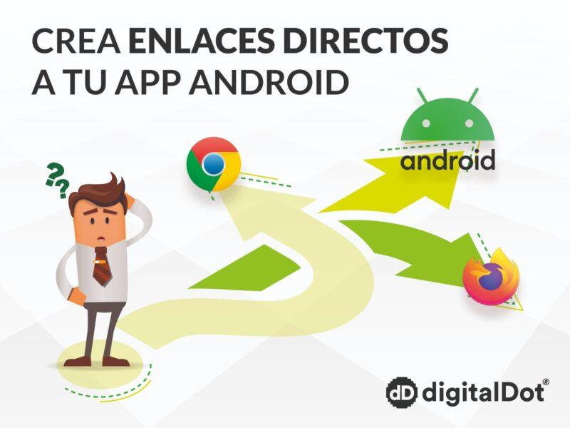Cómo crear vínculos directos al contenido de una app