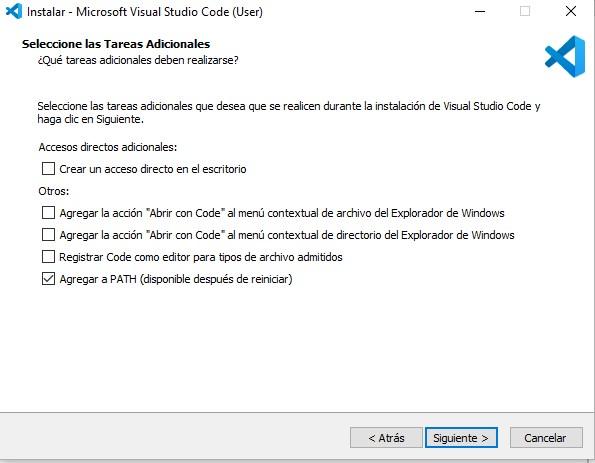 Instalación Visual Studio Code