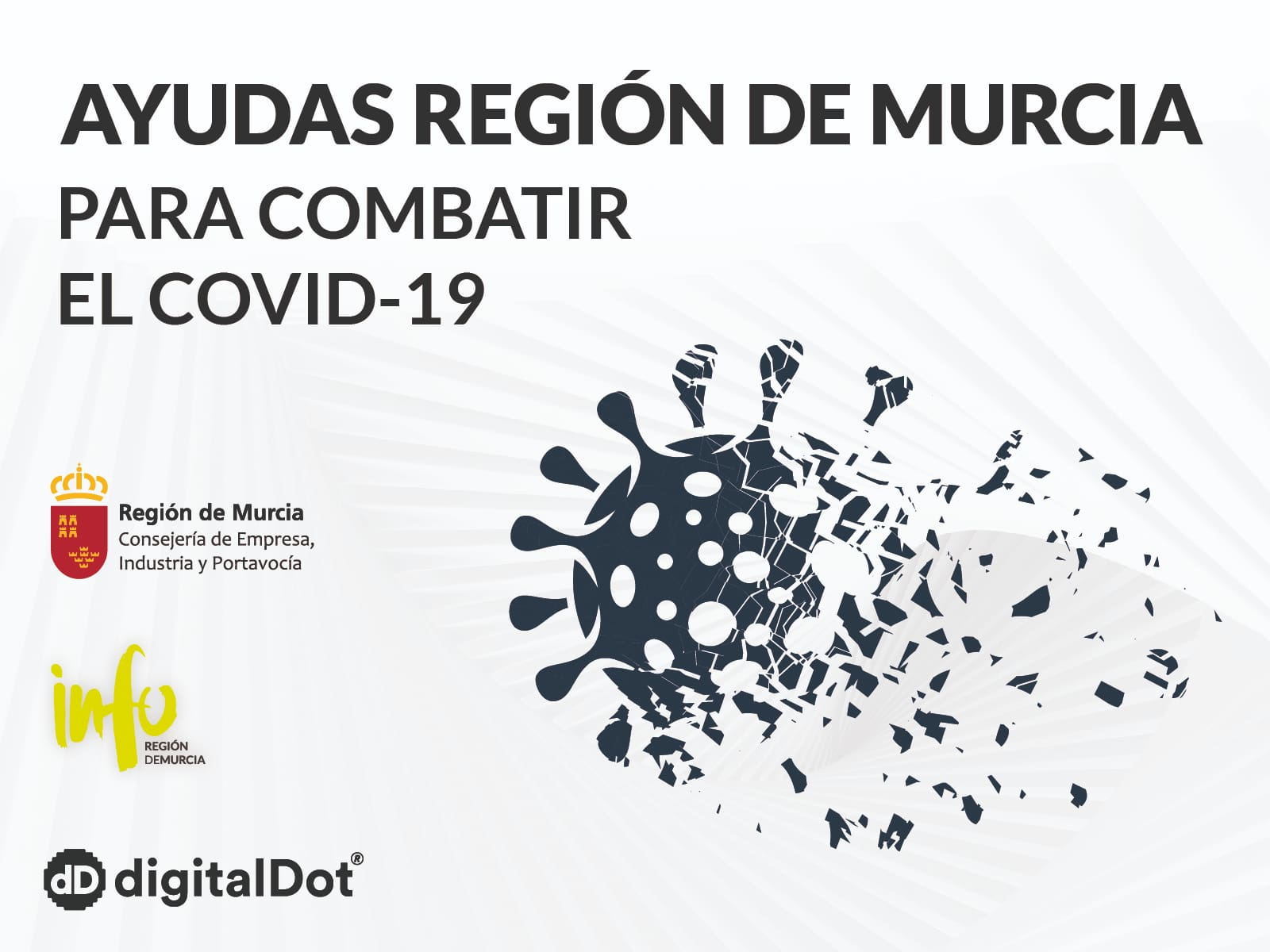 Ayudas COVID-19 para empresas de Murcia