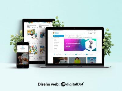Diseño web para Ciencia y Robótica