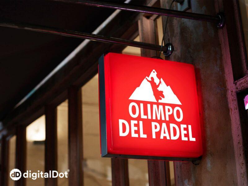 Logos para deportes. digitalDot