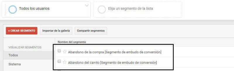 Segmentar en Google Analytics