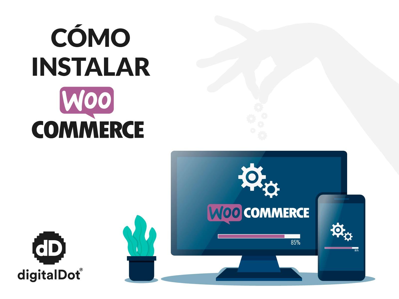 Instalación del plugin Woocommerce y uso de su API REST
