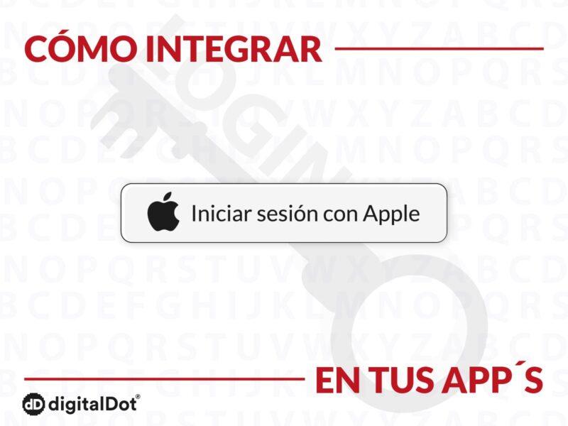 Login app Apple. digitalDot