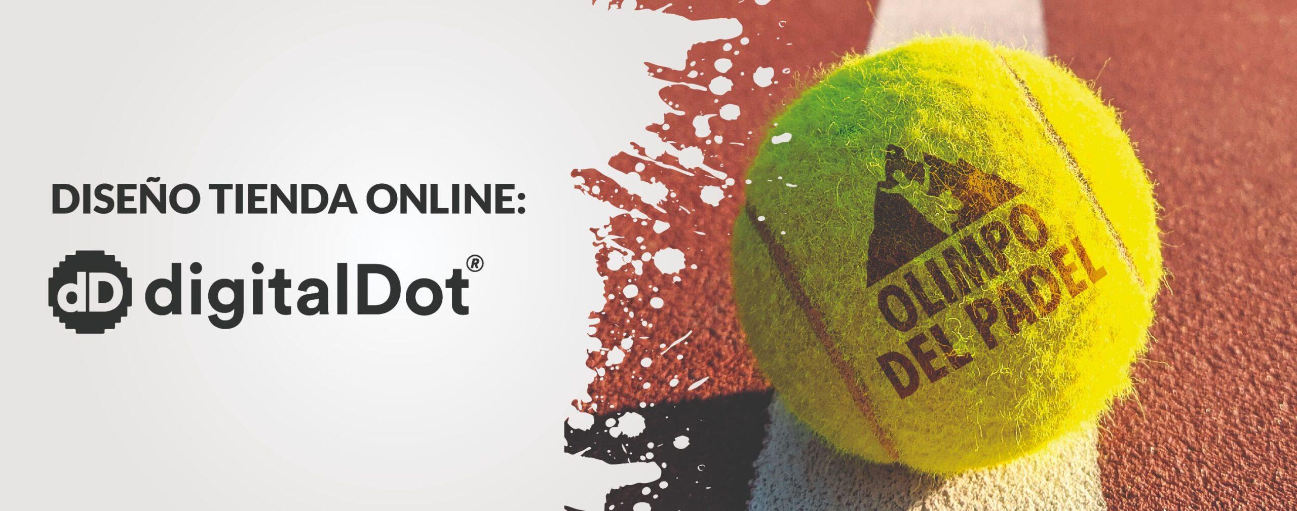 Diseño tienda online de pádel. digitalDot