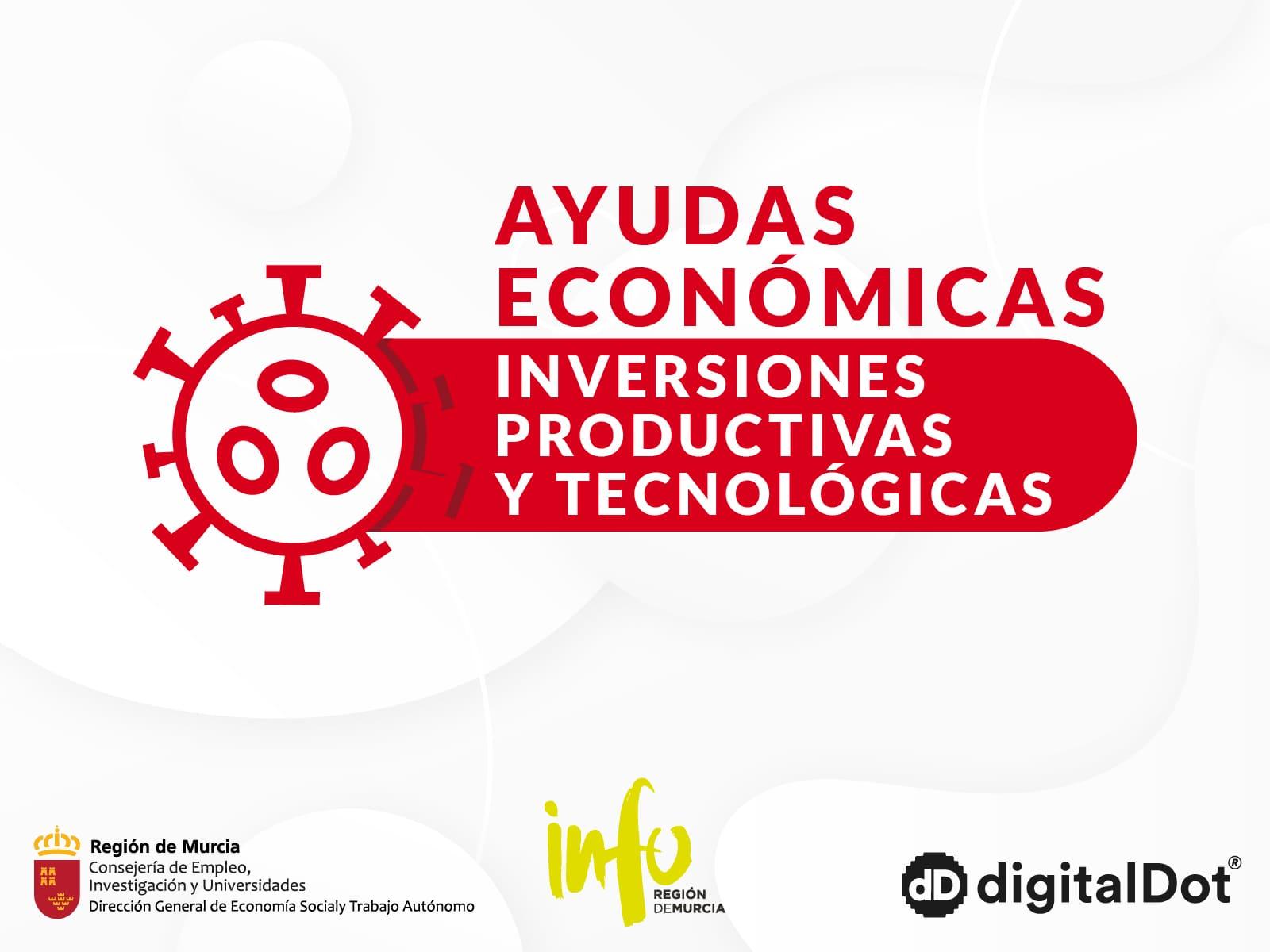 Ayuda a inversiones productivas y tecnológicas COVID-19