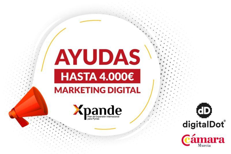 Programa de Ayudas Xpande Digital 2021 para empresas de Murcia