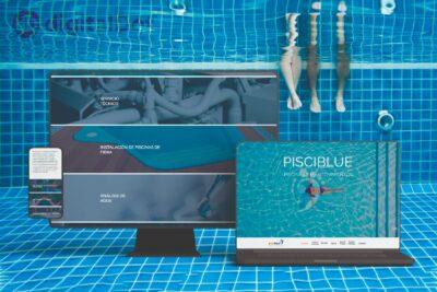 Diseño web de Pisciblue