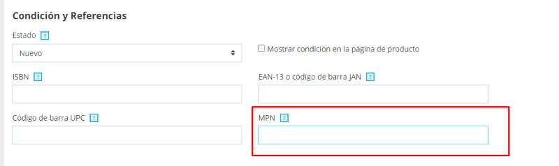 MPN PrestaShop 1.7.7