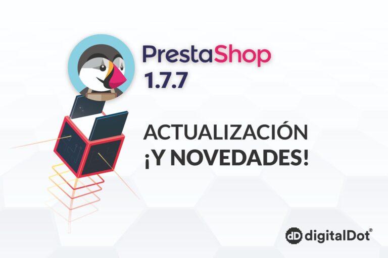 Novedades Prestashop 1.7.7