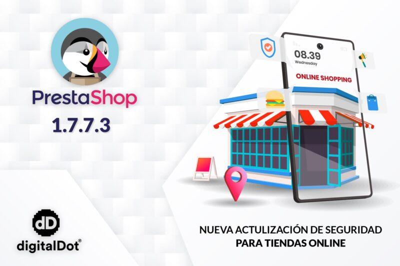 Actualización de PrestaShop 1.7.7.3