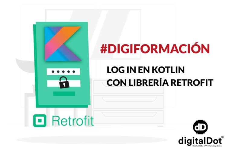Como implementar login en Kotlin con retrofit - digitalDot