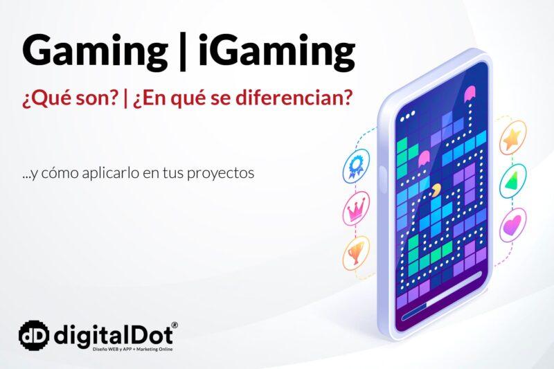 ¿Qué diferencia hay entre el Gaming y el iGaming?