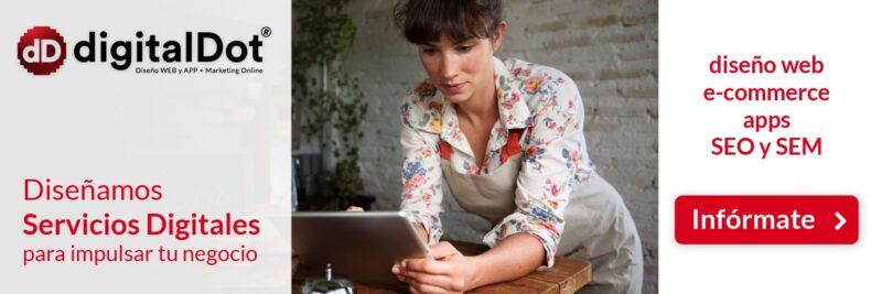 Formas de buscar diseño web en internet - digitalDot
