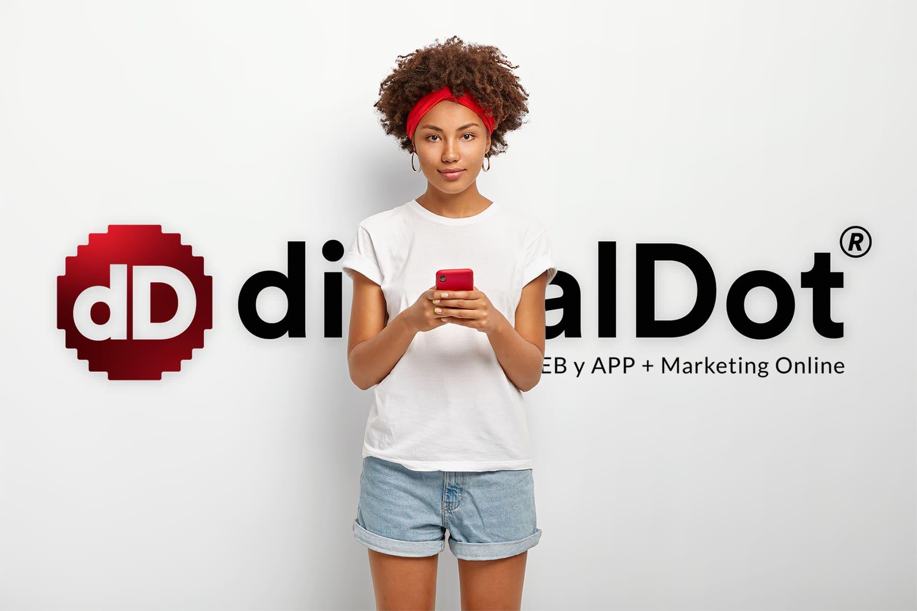 Posicionamiento con contenido. digitalDot