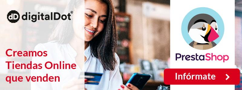 Por qué crear tu tienda online con PrestaShop -digitalDot